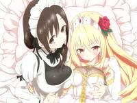 しっかり者の極上ボディメイドとツンデレお姫様とのとっても甘いラブラブエッチ ツンプリ FC2 無料エロアニメ動画