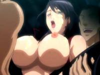 集団の男たちに次々犯されアナルとマンコを同時に凌辱される巨乳美女の輪姦セックス XVIDEOS 無料エロアニメ動画