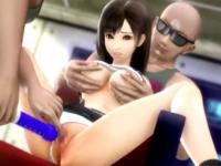 悪そうな黒人2人にパイパンマンコを凌辱される巨乳美女の3Pセックス XVIDEOS 無料エロアニメ動画