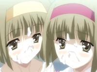 幼いけどエッチな双子の貧乳ロリ少女とラブラブ3Pセックス XVIDEOS 無料エロアニメ動画