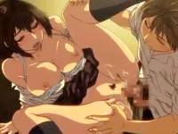 昔住んでいた地元に転校してきた男子と幼馴染の女子校生が校舎内でイチャラブセックス erovideo 無料エロアニメ動画