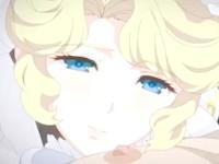 デカパイでペニスをすっぽり隠れちゃうくらい挟み込んでシコシコしてくれる爆乳メイド 裏アゲサゲ 無料エロアニメ動画
