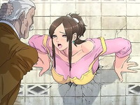 壁にハマって動けない美人妻が近所の男たちにアナルもマンコも犯されてしまう鬼畜輪姦セックス XVIDEOS 無料エロアニメ動画