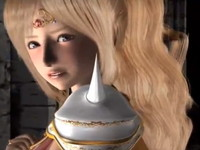 乳首をコリコリされただけで可愛い反応をしちゃう美人騎士が立ちながら生チンポを挿入されてイキまくる濃厚H erovideo 無料エロアニメ動画