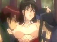 力の強い忍者たちの慰め者として扱われる美人くノ一たちが何本もの肉棒に凌辱される屈辱セックス erovideo 無料エロアニメ動画