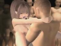 沢山の男たちに囲まれて輪姦セックスで次々とザーメンを中出しされてしまう美少女JKたち 裏アゲサゲ 無料エロアニメ動画