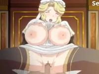 プルンぷるんと揺れる爆乳おっぱいを引っ提げて愛すべきご主人様の性のお相手をする従順メイド 裏アゲサゲ 無料エロアニメ動画