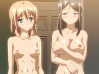 最後の思い出に三人でエッチしようとお願いしてくる激かわ姉妹と気の済むまでお風呂場でセックスができちゃう主人公 Pornhub 無料エロアニメ動画