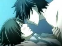 【BLゲイ動画】暗い部屋の中で男同士でドキドキするようなキスをし合うイケメンたち ShareVideos 女性向け無料エロアニメ動画