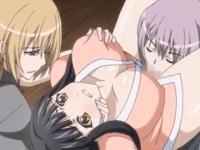 刑務所内で囚人の女たちに身体中を弄られ極太のふたなりチンポで凌辱される美人ナースの屈辱レズセックス REDTUBE 無料エロアニメ動画