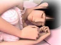 首を絞められながらアナルをズボズボされてアへ顔になりながらイキまくる美少女の調教セックス Pornhub 無料エロアニメ動画