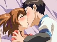 一緒に勉強している男子の強引なキスで一気にエッチな雰囲気になっちゃうラブラブカップル Spankwire 無料エロアニメ動画