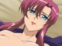 口元のほくろがとってもセクシーなメガネ美人とふっくらベッドで濃厚セックス REDTUBE 無料エロアニメ動画