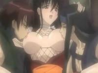 イケメンの忍び達や同じくノ一同士でお互いの体を弄り合って任務の合間に性行為をする巨乳くノ一 裏アゲサゲ 無料エロアニメ動画